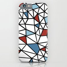 Segment Red and Blue iPhone 6s Slim Case