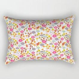 Toadstools and mushro Rectangular Pillow