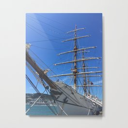 Old Sailing Ship Metal Print