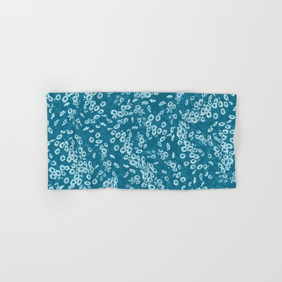 Daisy Dream Blue Hand & Bath Towel