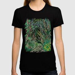 Bamboo Cathedral Sketch - San Marino CA T-shirt
