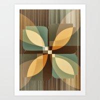 clover Art Prints featuring clover by Julia Tomova