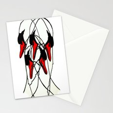 Moving Swan Stationery Cards