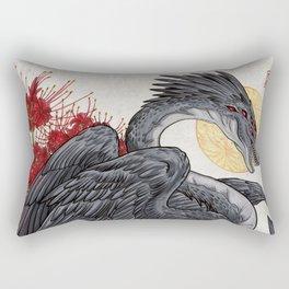 the destructive impulse Rectangular Pillow