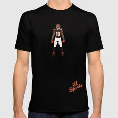 Who Dey? - A.J. Green Mens Fitted Tee Black MEDIUM