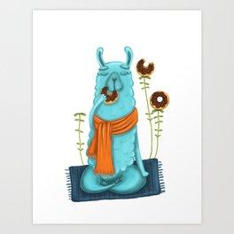 Delicious Meditation Art Print