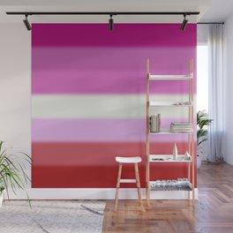 Lesbian Pride Flag Wall Mural