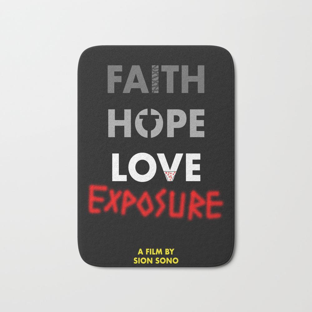 Love Exposure Bath Mat by Italyprayer BMT8364882
