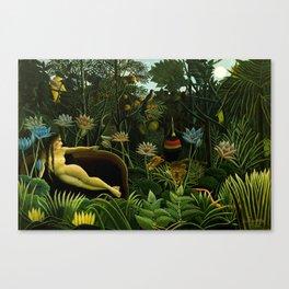 Rousseau Il Sogno Canvas Print