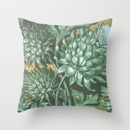 Royal Thistle Throw Pillow