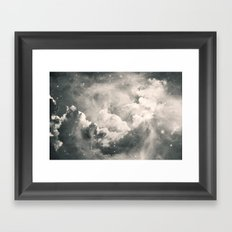 Find Me Among the Stars Framed Art Print