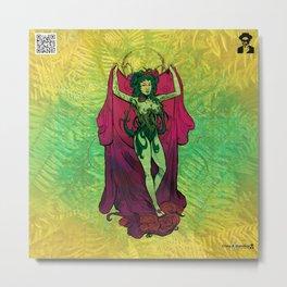 Bloom: An Awakening - Emerald Grand Ivy Rose Metal Print