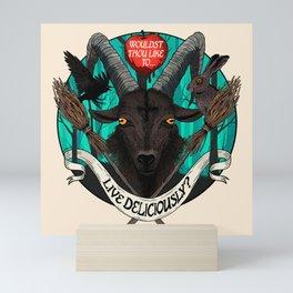 Black Phillip (The Witch) Mini Art Print