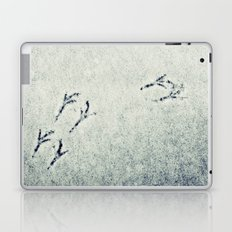 Bird Foot Prints Laptop & iPad Skin