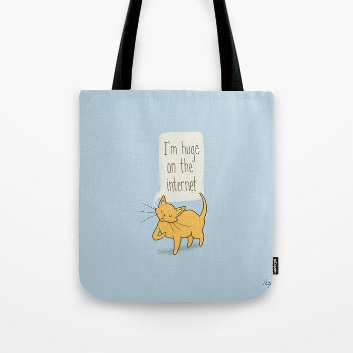 Huge on the Internet Tote Bag
