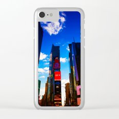 Times square NY Clear iPhone Case