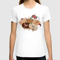 doughnut T-shirts featuring Doughnut Selection by Stephen Sharpe