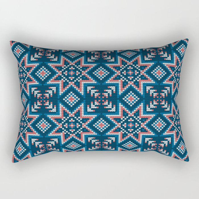 Pattern in Grandma Style #52 Rectangular Pillow