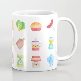 CUTE COOKING PATTERN Coffee Mug