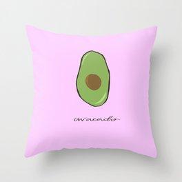 Avacado Throw Pillow