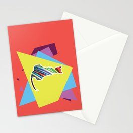 Electric Cat Stationery Cards
