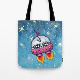 Space Lovers Tote Bag