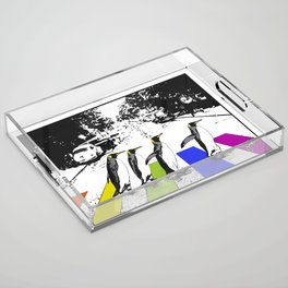Penguin Pride Acrylic Tray