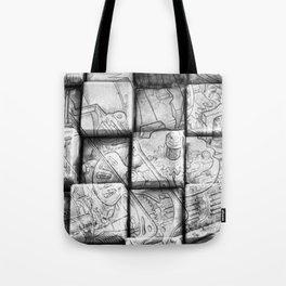 Cog Box Tote Bag