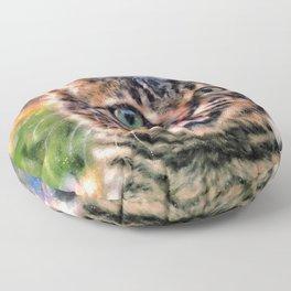 Hello Wild Little Beast Floor Pillow