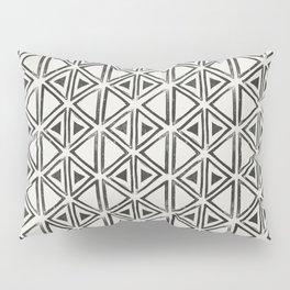 Block Print Diamond Pillow Sham