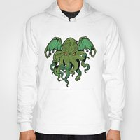 cthulhu Hoodies featuring Cthulhu by missmonster