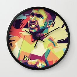 Sergio Ramos quote Wall Clock