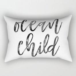 Ocean Child Rectangular Pillow