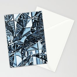 Painted Palms Vacation Mode  Stationery Cards