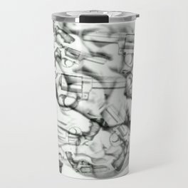 Human Brain weapon orig Travel Mug