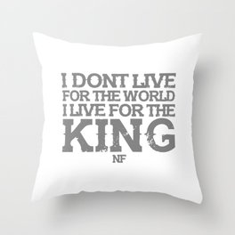 NF MUSIC QUOTES Throw Pillow
