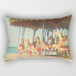 Seaside Carousel Rectangular Pillow
