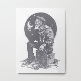 Not All Treasure Is Silver & Gold Metal Print