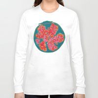 pomegranate Long Sleeve T-shirts featuring Pomegranate by bravo la fourmi