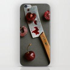 Cherries and Mini Cleaver iPhone & iPod Skin