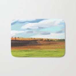 Farming Plain Bath Mat