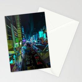Mong Kok At Night Stationery Cards