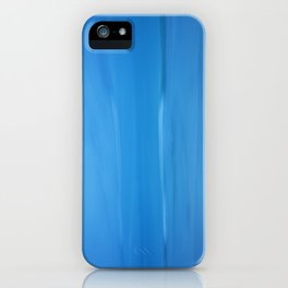 Abstract Blues iPhone Case