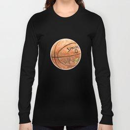 Basketball (Spalding Dr. JK) Long Sleeve T-shirt