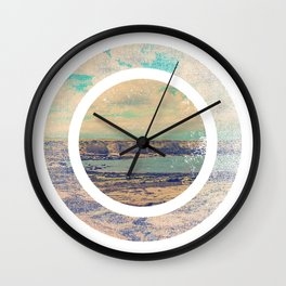 Look Back at the Lighthouse Wall Clock