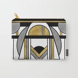 Up and Away - Art Deco Spaceman Carry-All Pouch