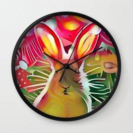 Stalker Rabbit Wall Clock