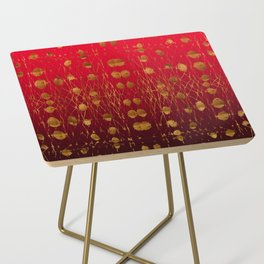 Kelp Forest Red Side Table