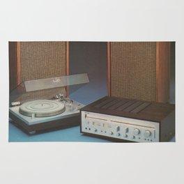 Vintage Speakers 1 Rug