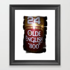 more beer Framed Art Print